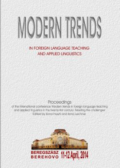 Modern trends in foreign language teaching and applied linguistics