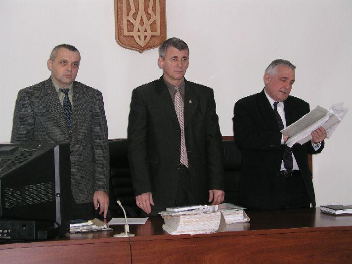 A Megyei bíróságon