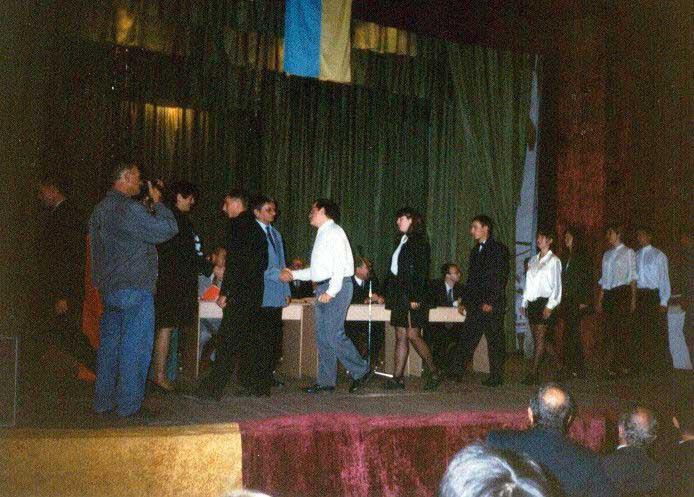 Tanévnyitó 2000-ben