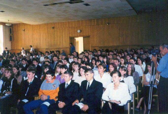 Tanévnyitó 1999-ben