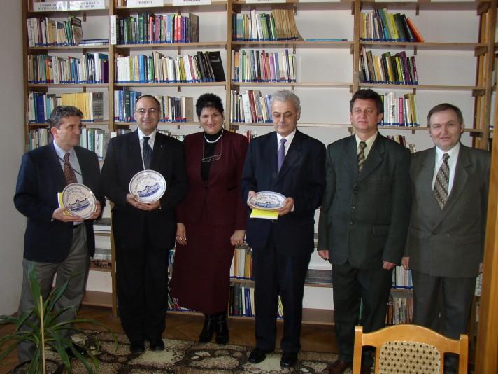A Puskás Tivadar információs központ átadásakor
