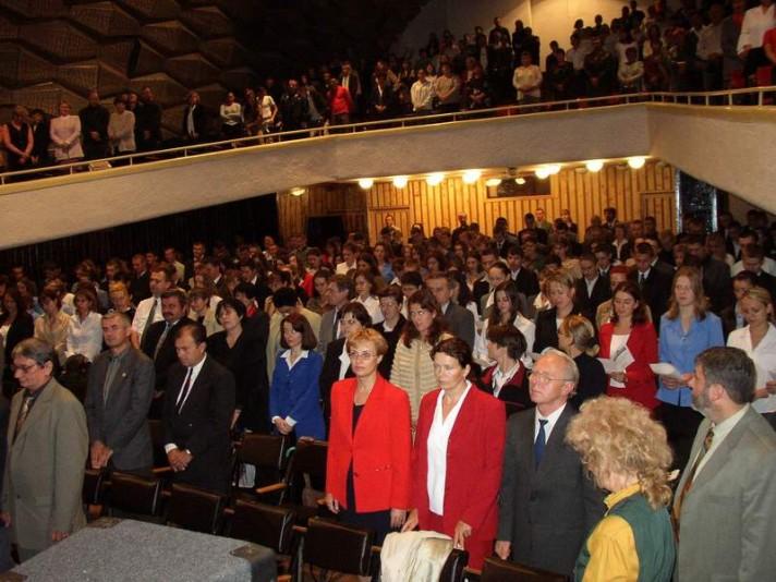 A 2003. tanévnyitó ünnepségen